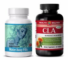 Immune system support supplement - WATER AWAY – CLA COMBO - cranberry vitamin c