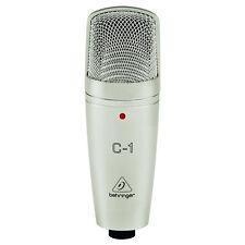 Behringer C1 Studio Cardioid Condenser Home Recording Vocal Microphone w/ Case