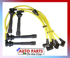 SPARK PLUG WIRES  ALTIMA KA24DE 2.4L 93 94 95 96 SILICONE HIGH PERFORMANCE 8 mm