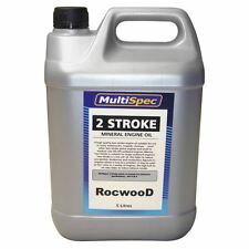 Two Stroke Engine Oil 5 Litres For Chainsaw Strimmer Brushcutter Cut Off Saw