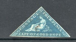 CAPE of GOOD HOPE 4d TRIANGLE VERY FINE EXAMPLE