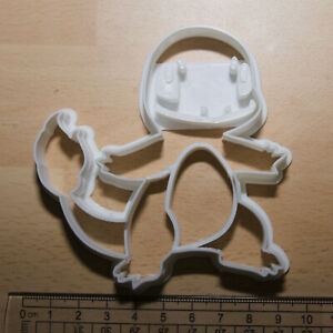 Pokemon  charmander Cookie or fondant  Cutter 3d printed
