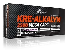 Olimp Kre-Alkalyn 2500 Mega Caps. pH - Creatine 120caps. - free shipping !