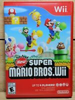 New Super Mario Bros. Wii (Nintendo Wii, 2009) Video Game Tested