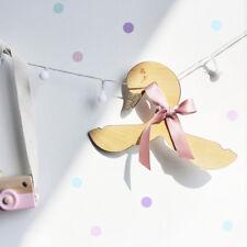 Wooden Swan Bowknot Clothes Hanger Rack Kids Room Home Decor Photo Prop Eyeful