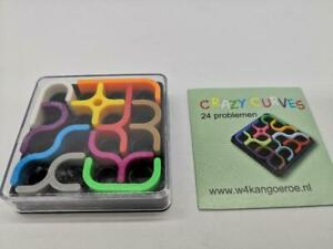 "NEW CRAZY CURVE Plastic Puzzle Game Brain Teaser Block Contest 2.5x2.5x0.5"" US"