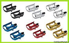 Pedales de aluminio en bolas bicicleta Fijado / BMX / MTB - Elegir Color