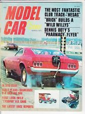 Model car science march 1970 mesac mystique-mustang funny car-tyco terror-willys