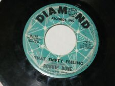 45 rpm Ronnie Dove Let's Start All Over Again Diamond D-198 That Empty Feeling