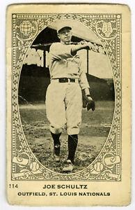 1922 Neilson's Chocolate V61 Joe Schultz St. Louis Cardinals