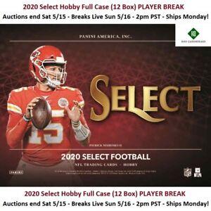 Gabriel Davis Bills 2020 SELECT HOBBY Full Case 12 Box PLAYER BREAK