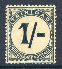 Trinidad 1885-6 Postage Dues 1sh mint never hinged (2015/07/27 #07)