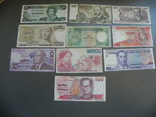 10 alte Welt Banknoten