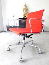 Vitra Eames EA 117 Bürodrehstuhl, Hopsak rot, Chrom, Top, inkl. 19% MwSt.!