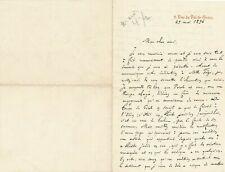 théâtre Gustave LARROUMET 2 lettre autographe signée à Albert CARRE Fege actrice