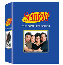 Seinfeld: The Complete Series DVD Gift Box Set 33 Disc 180 Episodes | NEW