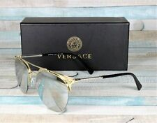 VERSACE VE2181 12526G Pale Gold Light Grey Mirror SilVEr 57 mm Men's Sunglasses