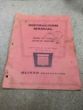 Oliver Oc-3 Gas Instruction Manual 350000 And Up 36-4-201B