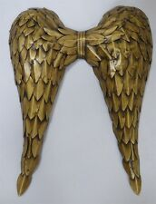 Large Gold Metal Angel wings  Metal Wall Art Decor