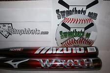 New Mizuno Wrath Extended 120 Softball Bat 34 28 NIW Non ASA Slowpitch Techfire