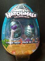 Hatchimals CollEGGtibles Mini Eggs 2 Pack + Nest Season 5 Mermal Magic NEW