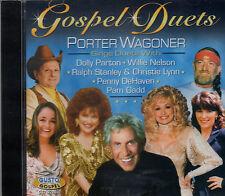 """PORTER WAGONER Brand New CD """"GOSPEL DUETS"""" with Dolly, Willie etc. 14 TRACKS"""