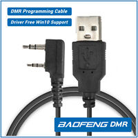 US Baofeng Programming Cable Driver-free for RD-5R DM-5R DMR Digital Ham Radio