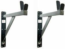 Heavy Duty Squat rack wall mounted 200kg Weight Lifting Training DIY Garage Gym
