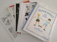 Paper Dolls and Their Artists By Mary Young Book Vintage Reference Information