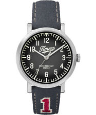 Orologio Timex TW2P92500 nero in pelle originals university uomo sportivo casual