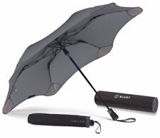 BLUNT XS_Metro CHARCOAL GREY Compact Collapsible/Folding Automatic Umbrella