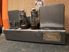 Vintage 1960s 1964 Quad II Amplifier GEC KT66 Mullard Mono Block Serviced