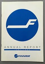 FINNAIR ANNUAL REPORT 1991-92 FINLAND MD-88
