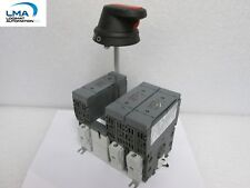 ABB 350 OS60GJ12 FUSIBLE DISCONNECT SWITCH 3PH 3P 60A 600VAC + HANDLE