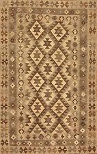Tappeto orientale Intrecciato a mano Afghanistan Kilim Nr. 315 194x121 cm Ponte