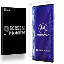 [2-PACK BISEN] FULL COVER Clear Screen Protector Guard Shield For Motorola Edge