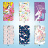 Unicorn Wallet Case Cover for iPhone XS MAX XR X 8 7 6 6S Plus SE 5S 092