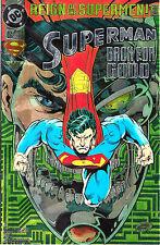 SUPERMAN 1993 DC Comics SUPERMAN BACK FOR GOOD #82 FOIL Cover