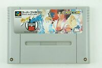 Street Fighter Zero 2 SNES CAPCOM Nintendo Super Famicom From Japan