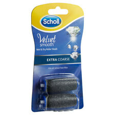 SCHOLL VELVET SMOOTH WET & DRY EXTRA COARSE DIAMOND CRYSTALS REFILL 2 PACK
