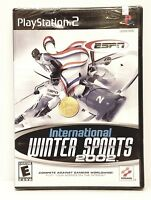 ESPN International Winter Sports 2002: Playstation 2, PS2. NEW & FACTORY SEALED