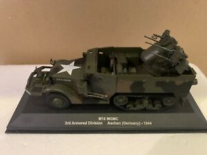 M16 Mgmc 3rd Armored Division U.S.A.1944 Aachen Germany 1:43