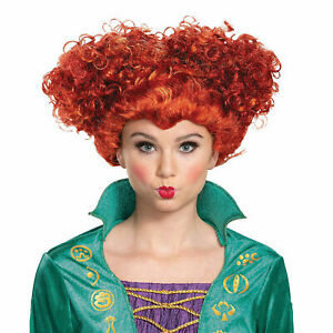 Deluxe Wini Wig Adult Costume Accessory NEW Hocus Pocus
