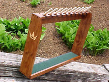 Wood Floor Display Rack for 10 Scotty Cameron Putters Golf Clubs & 10 Headcovers