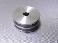 Select Size 40mm Diameter 6 to 20mm Bore U-Groove Flat Pulley DORL/_A