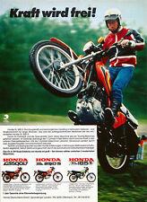 Honda XL 500 S - Werbung 1979