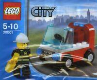 Lego Stadt Feuerwehrmann Auto 30001 Neu