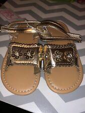 Nwt Swiggles Brand Girls Flower Sandals Sz 8