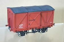 O GAUGE KIT BUILT 8 TON LMS EXTERNAL FRAME SLIDING DOOR WAGON 4434 mw