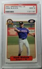 Hank Blalock 2001 Arizona Fall League Minor League #1 PSA MINT 9 Rangers